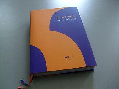 Gerard Unger Wie mans liest Titel