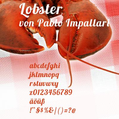 Grafik: FreeFont Lobster